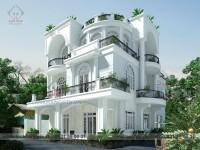 Thiết kế biệt thự A.Tâm Nhơn Trạch