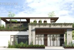 Thiết kế biệt thự sân vườn hiện đại Anh Dũng ở Đồng Nai
