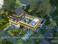 Thiết kế cafe sân vườn Long Khánh