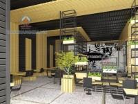 Thiết kế quán cafe Thủ Đức