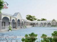 Thiết kế nhà thờ Trà Tân
