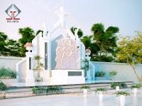 Thiết kế đài thờ thánh tử đạo