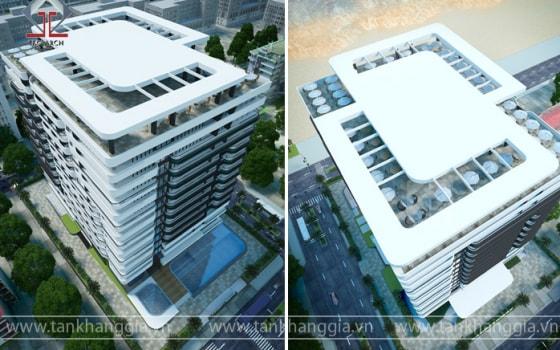 Thiết kế khách sạn Cambodia