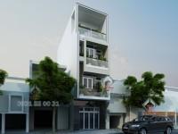 Thiết kế nhà phố Anh Lâm