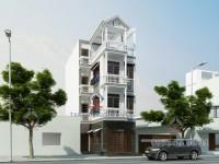 Thiết kế nhà phố Anh Minh