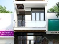 Thiết kế nhà phố Anh Phong