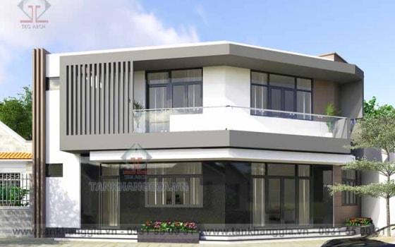 Thiết kế nhà phố Anh Thái