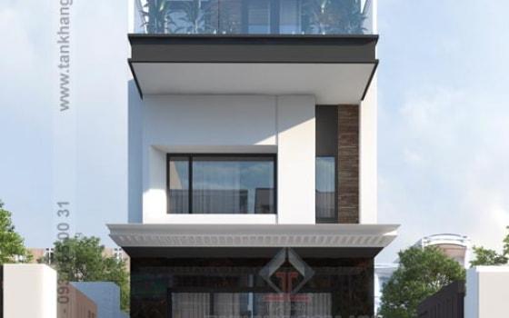 Thiết kế nhà phố Anh Vũ
