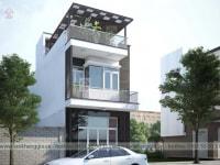 Thiết kế nhà phố Bác Quyên
