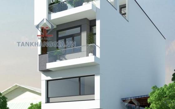 Thiết kế nhà phố Chị Hà