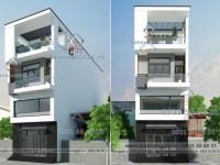 Thiết kế nhà phố Chú Hồng