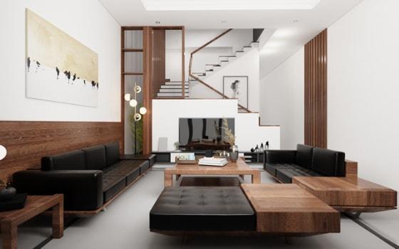 Thiết kế nội thất nhà chị Hồng LK