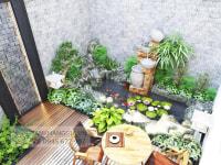 Thiết kế sân vườn nhà Anh Khoa