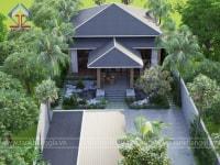 Thiết kế biệt thự vườn Chị Dung