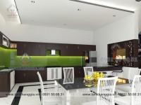Thiết kế nội thất chị Ngà