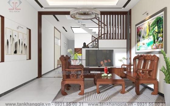 Thiết kế nội thất Chú Hồng