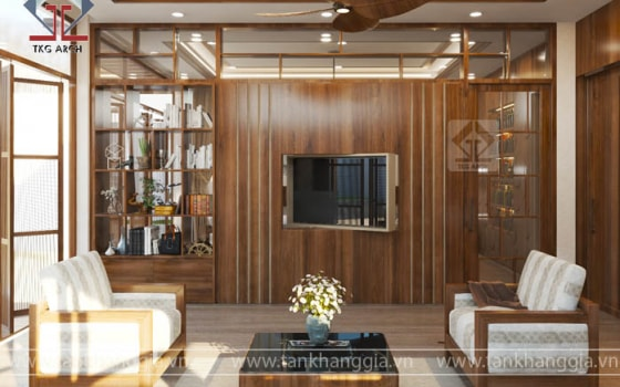Thiết kế nội thất biệt thự Chị Thảo