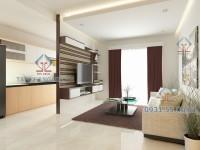 Thi công nội thất căn hộ Saigonland