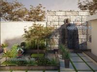 Thiết kế sân vườn Anh Bắc