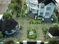 Thiết kế sân vườn Anh Kiên
