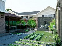 Thiết kế sân vườn Anh Phú