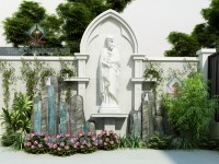 Thiết kế sân vườn Bác Chương