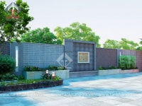 Thiết kế sân vườn chú Sáu