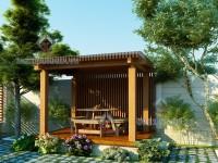 Thiết kế sân vườn nhà Chú Hai