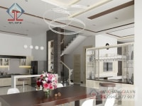 Thiết kế nội thất nhà anh Nghĩa