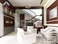 Thiết kế nội thất nhà chú Vũ