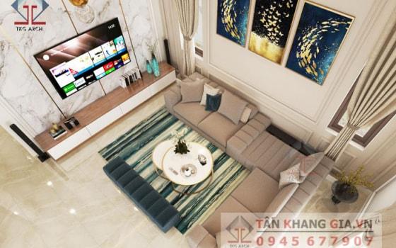 Thiết kế nội thất chị Liên