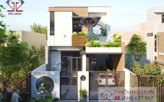 Thiết kế nhà Chị Hương Long Khánh