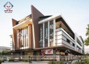 Dự án thiết kế trung tâm thương mại – chợ ở Cambodia đang thi công