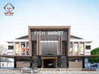 Chợ – TTTM Cambodia giai đoạn 2