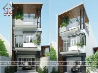 Thiết kế nhà phố Anh Hà
