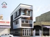 Thiết kế nhà phố Chú Lanh