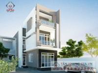 Thiết kế nhà phố Anh Hoàng