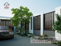 Thiết kế sân vườn Anh Thăng