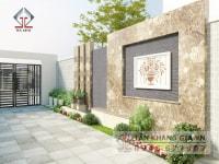 Thiết kế sân vườn nhà Anh Ty