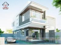 Thiết kế nhà phố của anh Hải
