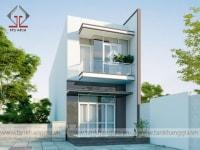 Thiết kế nhà phố anh Thao