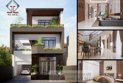 Thiết kế biệt thự 3 tầng ở Xuân Lộc Đồng Nai – Tân Khang Gia