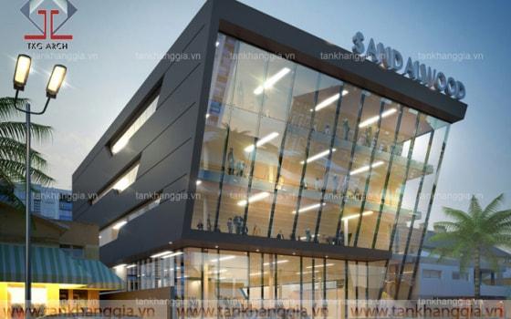 Thiết kế văn phòng Sandal Wood
