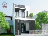 Thiết kế nhà phố Anh Trường