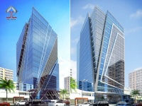 Thiết kế trụ sở văn phòng Cambodia