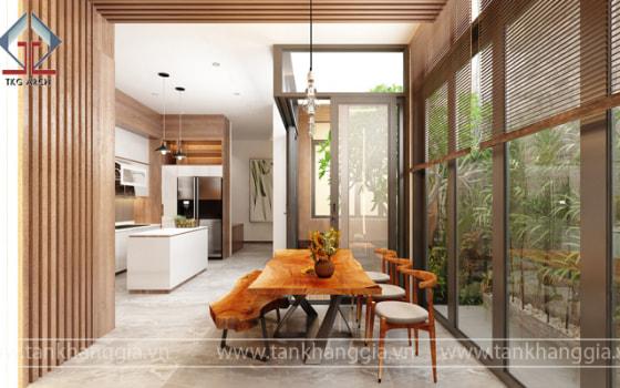 Thiết kế nội thất nhà Bác Thông