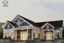 Thiết kế nhà mái thái đẹp ở Cẩm Mỹ – Đồng Nai