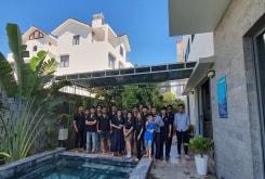 Công ty Tân Khang Gia tổ chức tham quan và du lịch cho toàn thể nhân viên tại biển Vũng Tàu